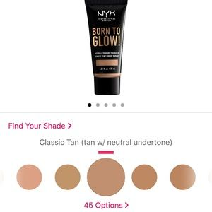 Nyx born to glow foundation